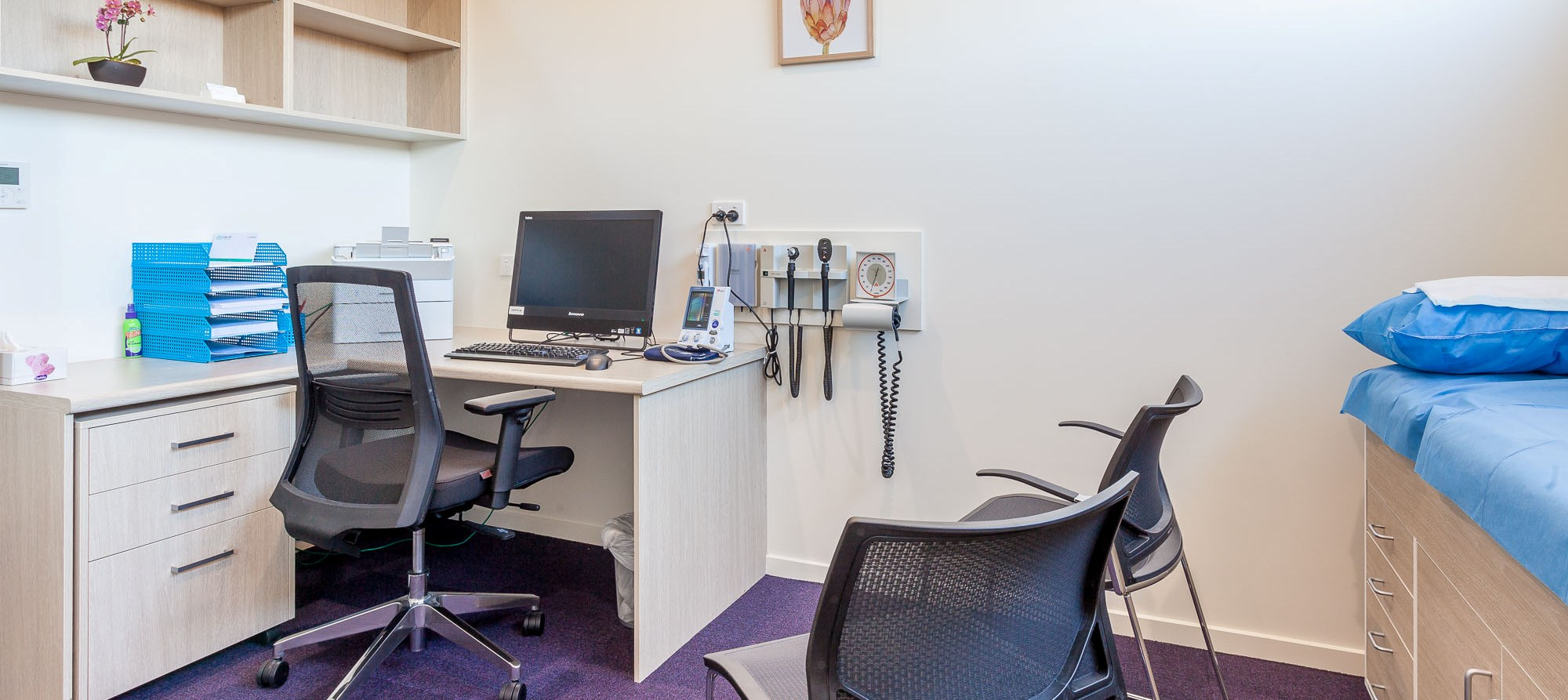Glebe Hill Family Practice - consulting room
