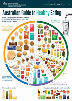 Australian Healthy Eating Guidelines